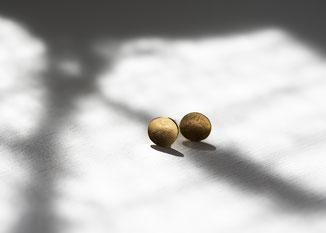 goldene schalen ohrstecker