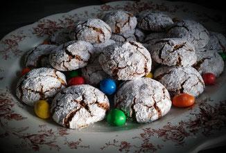 biscuits moelleux aux amandes et chocolat