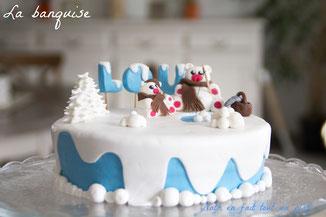 gâteau chocolat, praliné