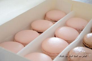 macarons framboise, meringue italienne, christophe felder