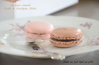 Macarons chocolat (C.Felder)