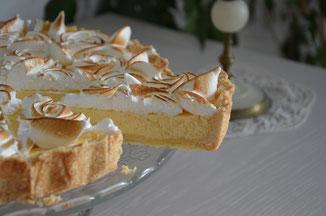 délicieuse tarte au citron meringue italienne