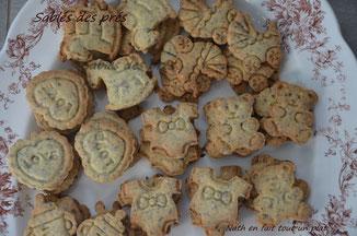 délicieux biscuits croquants aux graines. sablés des prés