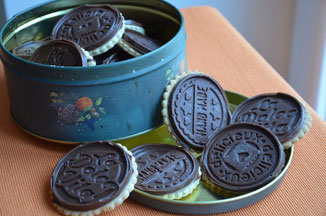petits écoliers biscuit croquant et chocolat