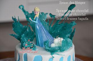 victoria's sponge cake, chocolat, reine des neiges, libérée délivrée