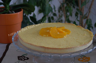 tarte à l'orange de philippe conticcini