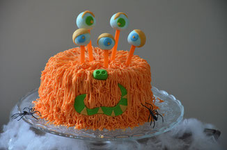 molly cake, ovo maltine, monstre halloween