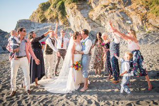 Alex & Dan's Tunnels Beaches Wedding