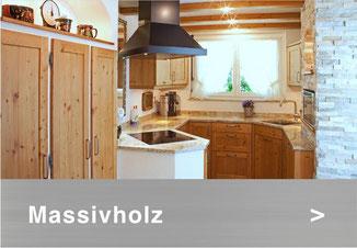 Bild: Massivholz Küche