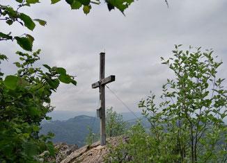 Großer Landsberg Gipfel, Weiterwanderung auf den Kleinen Landsberg