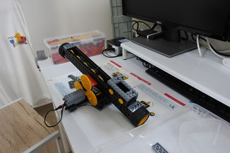 木曜日のヒューマンアカデミーロボット教室写真2