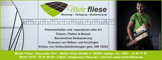 Das Örtliche 2018, Foto: Axel WeissMister Fliese - Ihr Fliesenleger aus Leipzig in