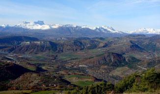 Vue depuis Piégut