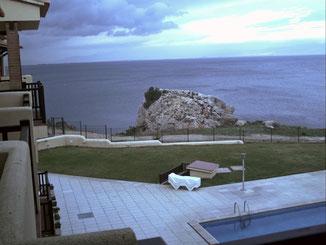 Vue sur l'île Mateua
