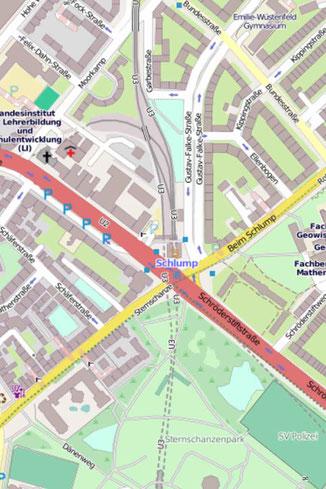 42 Minuten Hamburg, Ringlinie, U3, Hochbahn, Dieter Jacobsen, Baumwall, Elbphilarmonie, Hafen,