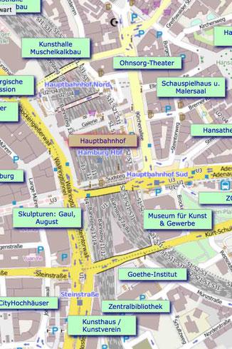 42 Minuten Hamburg, Ringlinie, U3, Hochbahn, Benjamin Schubert, Dehnhaide, Skulpturen, Künstler, Barmbek Süd,