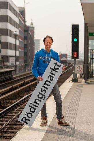 42 Minuten Hamburg, Ringlinie, U3, Hochbahn, Frederik Braun, Rödingsmarkt, Miniaturwunderland, Speicherstadt, Hafen City, Knuffingen, Gerrit Braun,