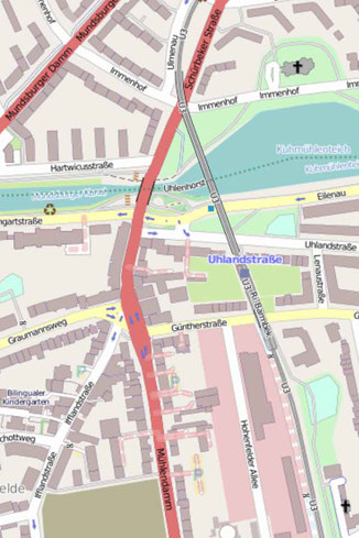 42 Minuten Hamburg, Ringlinie, U3, Hochbahn, St. Pauli, Tanzende Türme, Berliner Bogen, Hadi Teherani, Europa Passage,