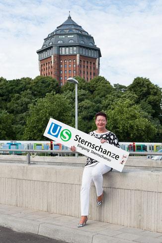 42 Minuten Hamburg, Ringlinie, U3, Hochbahn, Annette Bätjer, Sternschanze, Mövenpick, Wasserturm, Planten und Blomen, Schanzenpark, Schokoladenmanufaktur