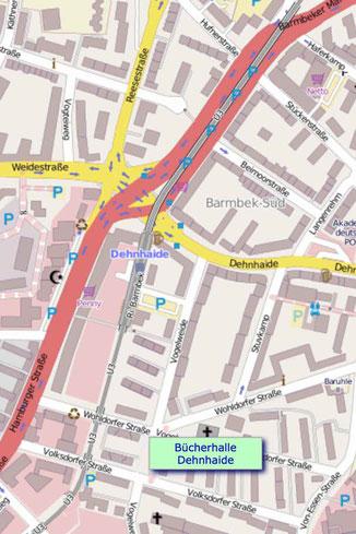 42 Minuten Hamburg, Ringlinie, U3, Hochbahn, Helga Goes, Uhlandstraße,