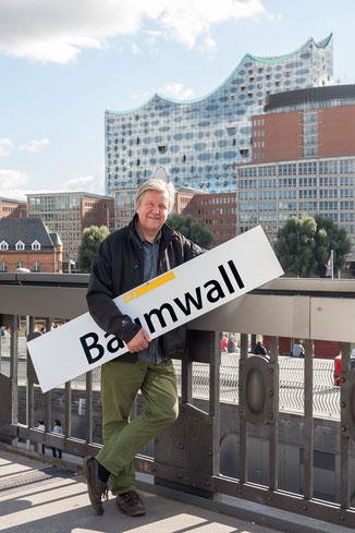 42 Minuten Hamburg, Ringlinie, U3, Hochbahn, Dieter Jacobsen, Baumwall, Schauermann, Barkasse, Elbphilharmonie, Hafen City, Speicherstadt, HHLA