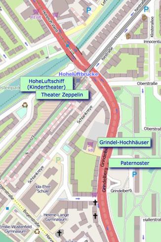 42 Minuten Hamburg, Ringlinie, U3, Hochbahn, Hans-Jochen Jaschke, Weihbischof, St. Marien Dom, Berliner Tor,