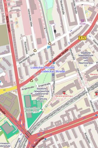 42 Minuten Hamburg, Ringlinie, U3, Hochbahn, Annette Bätjer, Sternschanze, Mövenpick, Wasserturm, Schanzenpark