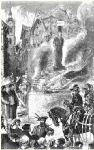 Michel Servet est brûlé vif le 27 octobre 1553 dans des souffrances d'une cruauté indescriptible une torture interminable. Comment des êtres humains ont-ils pu lui infliger un tel supplice ? L'intolérance religieuse frappe du côté protestant et catholique