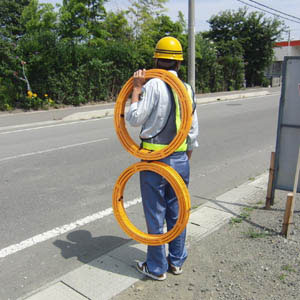 多機能型ソーラー式LED回転灯メガムック