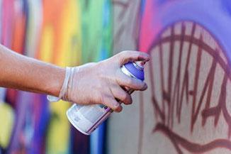 Teambuilding Idee, mit Grafitti: Action Art