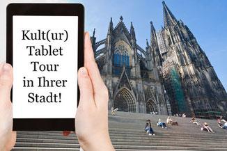 Teambuilding - Kultur Profiler - Tablet outdoor Event