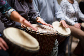 Kreatives Teambuilding, Drum Workshop: Drum boo laya