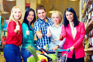Teamkochen kreativ: Das perfekte ShoppingDinner