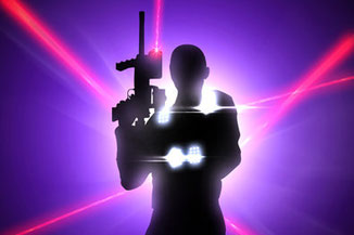 Teambuilding Idee: Firmen Laser Game, Laser Tag mit der Firma