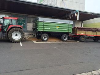 Weizen liefern