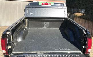 Antirutschmatte Dodge Ram, Crew Cab, Quad Cab, Rambox, www.pickupmatte.de