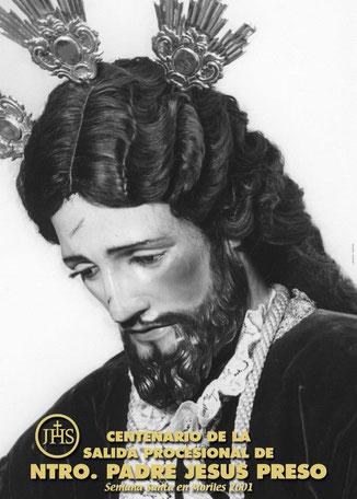 Cartel Anunciador del  1er Centenario de la cofradía (1901-2001)