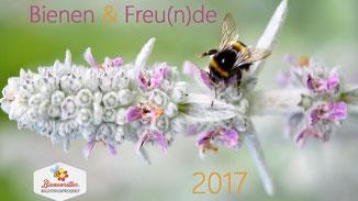 Charity Fotokalender Bienenretter