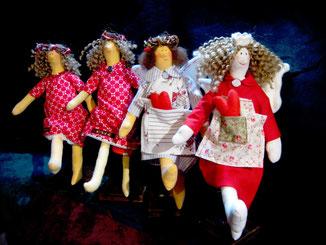 Engel,Figuren,Puppen,Damen,Tilda