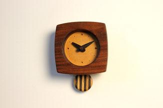 ゆらり時計(ウォルナット)