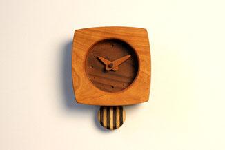 ゆらり時計(アメリカンチェリー)