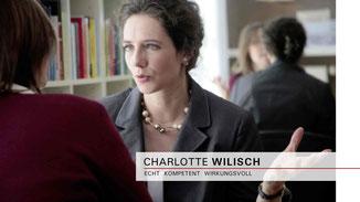 Charlotte Wilisch - Nonverbales Selbstmarketing - Beratungsgespräche und Coaching diskret und maßgeschneidert für ihre Anliegen