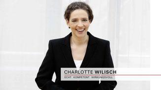 Charlotte Wilisch - Nonverbales Selbstmarketing für Männer und Frauen - Business-Seminar für Selbständige, Führungskräfte, Mitarbeiter - Souverän auftreten - Anmeldung Seminar in Bielefeld