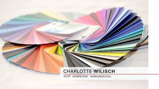 Charlotte Wilisch - Nonverbales Selbstmarketing - Wichtiges zur Anwendung vom Farbpass als Einkaufshilfe