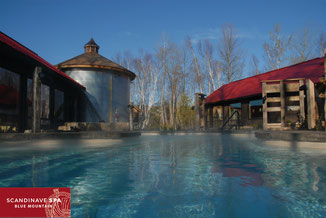 Danby House B&B spa packages with spa partner Scandinave Spa Blue Mountain.