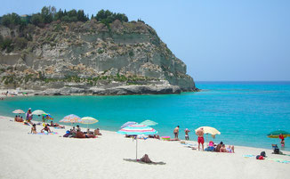 Traumstrand © Ferienwohnung Spilinga | Tropea | Kalabrien - Casa Belle Vacanze