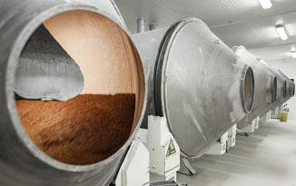 Chocolade hagelslag fabriek in Brabant