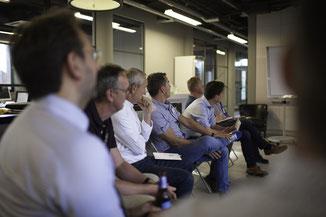 Paul van Loon van Censor tijdens presentatie Techsharks Eindhoven door Jordy Leenders