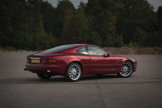 Aston Martin DB7 Coupé in Helmond Nederland