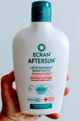 Latte doposole idratante riparatore+ Ecran aftersun